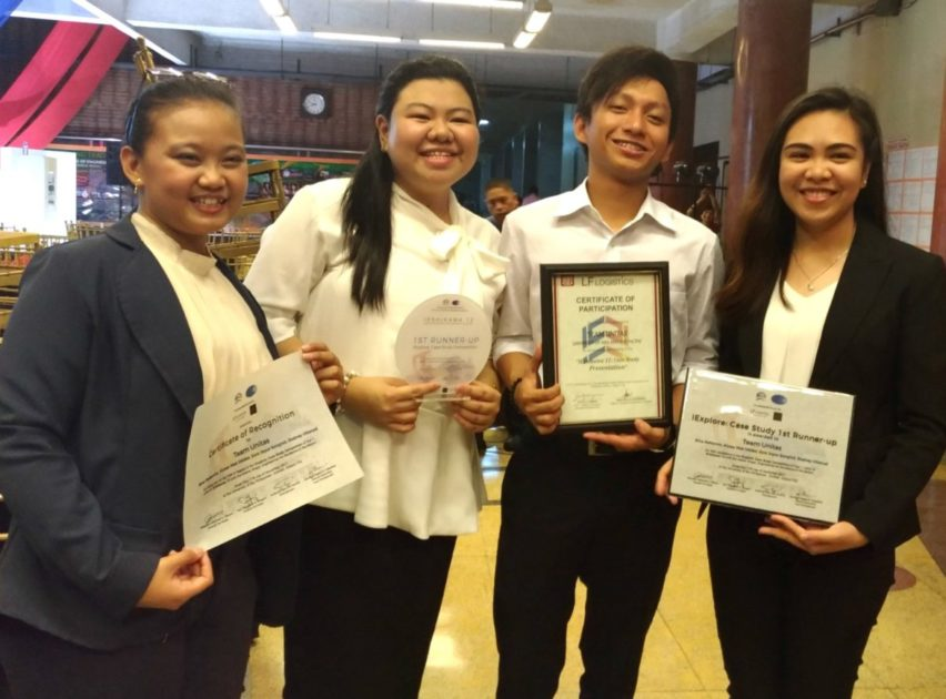 UA&P Team Unitas bags 1st Runner-up in IExplore Case Study Competition 2